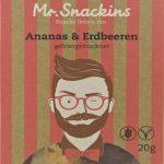 Mr. Snackins Erdbeeren & Ananas